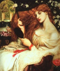 Lilith by Rossetti