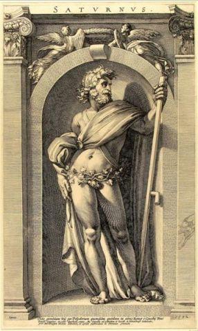 Caravaggio's Saturnus, 16th century