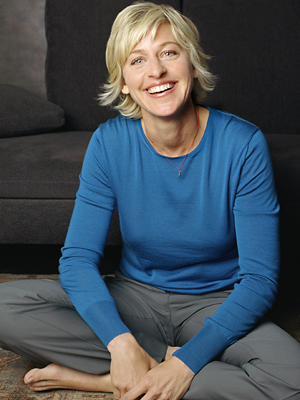 Ellen DeGeneres at her casual best