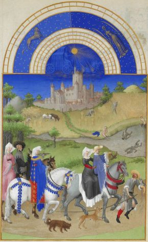 Tres Riches Heures, August