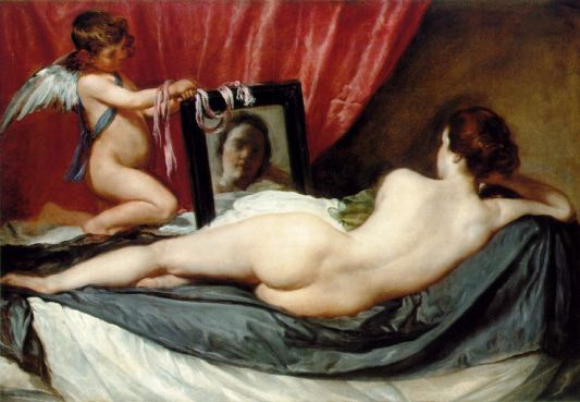 The Rokeby Venus, by Diego Velazquez