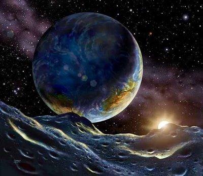 New Extra-solar Planet by David Hardy