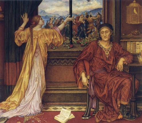 The Guilded Cage, by Evelyn de Morgan