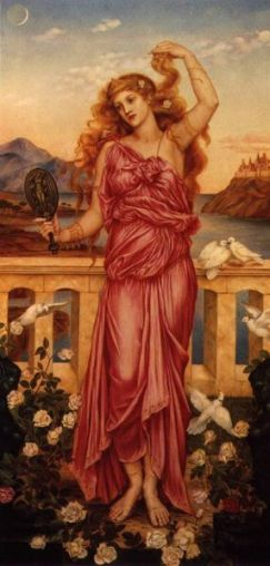 Helen of Troy, by Evelyn de Morgan, 1898