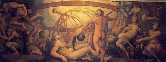 The castration of Uranus by Saturn