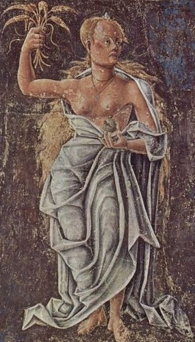 Ceres Fresco by Cosimo Tura, 1469-70.