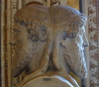 Janus, Roman god of doorways