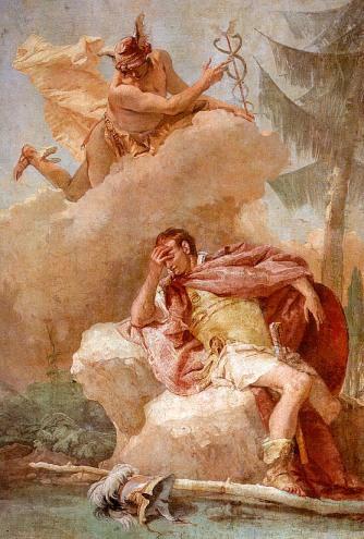 Tiepolo's Mercury Appearing to Aeneas