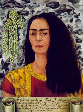 Loose Hair by Frida Kahlo