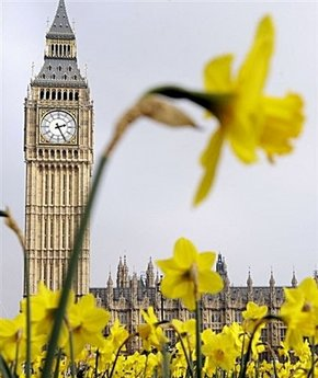 Spring in London (see image credit below).