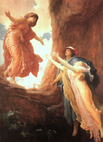 The Return of Perspehone by Frederic Leighton