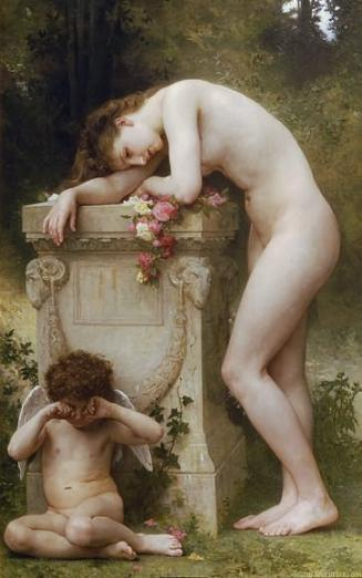 The Pain of Love, by Bouguereau