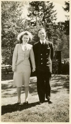 Neith's Parents Wedding Photo in  1944