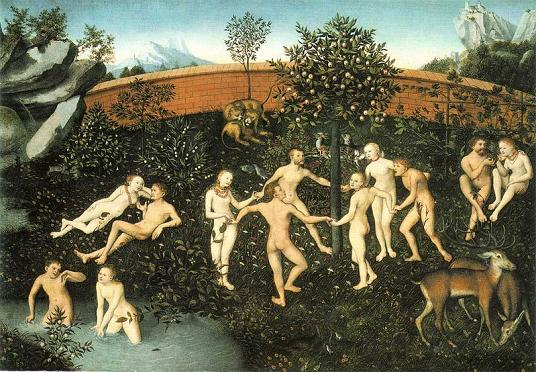 The Golden Age, Lucas Cranach the Elder