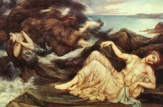 Port After Stormy Seas, by Evelyn De Morgan
