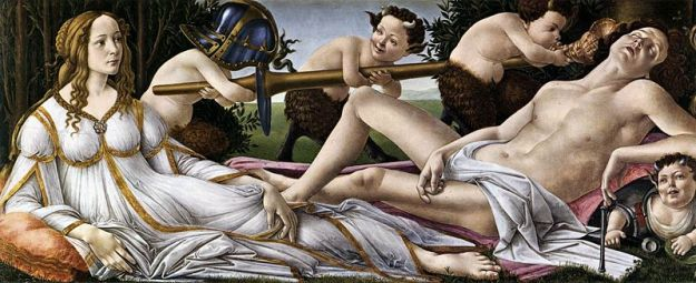 Mars and Venus, by Sandro Botticelli