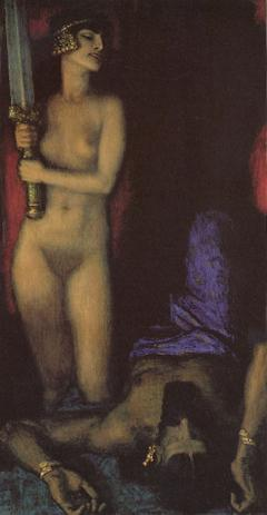 Judith and Holofernes by Franz von Stuck