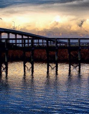 Apalachicola Bridge. © Gretchen Friedrich, 2013.