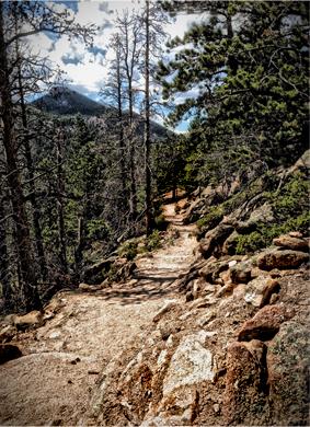 Rocky Path. © Osk Ingad Alden, 2013.