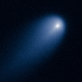 Comet ISON, April 10, 2013. NASA, ESA, J.-Y. Li (Planetary Science Institute)