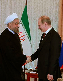 Rouhani and Putin, September 2013