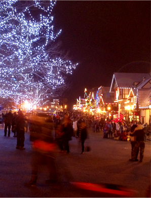Leavenworth in December. © Pat Paquette, 2013.