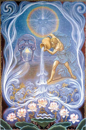 Aquarius. © Johfra, JohfraPosters.com
