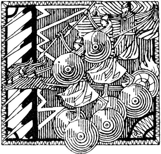 Storm in Hjørungavåg, by Gerhard Munthe, an illustration for  Olav Tryggvasons saga, 1899 edition.