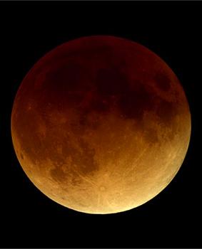 Lunar Eclipse in 2000, image courtesy Fred Espinak.