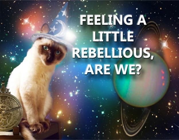 Rebellious Aquarius