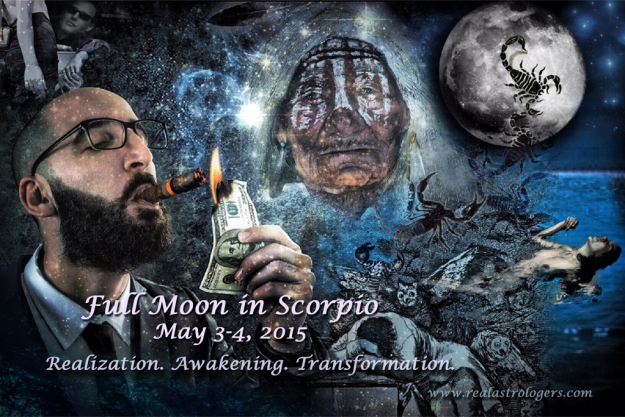 Full Moon in Scorpio 2015