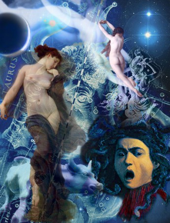 New Moon in Taurus 2015 collage