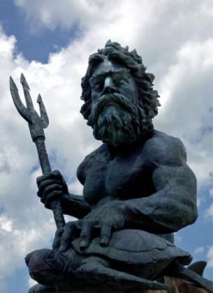 King Neptune. © Osk Ingad Alden, 2015.